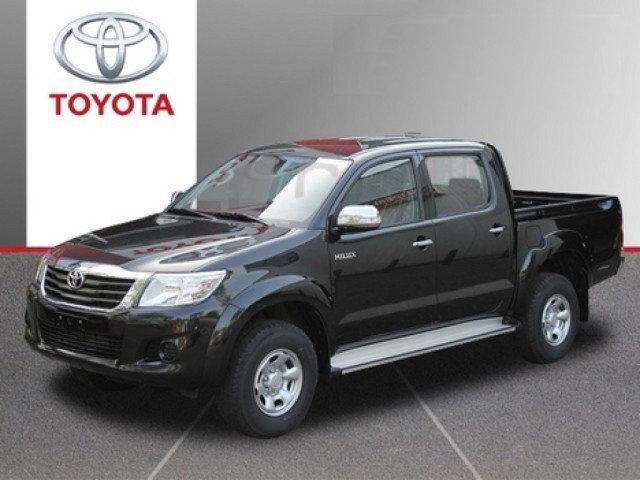 Toyota Hilux Van leasen